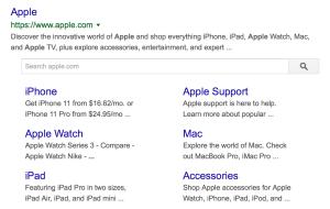 Apple Structured Schema Example